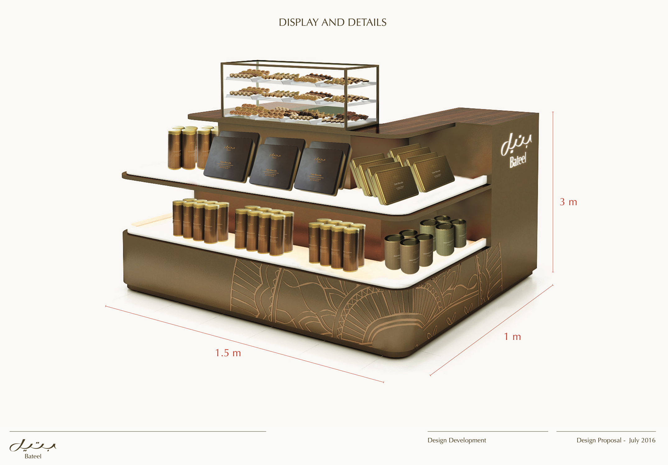 Dutyfree Kiosk Design