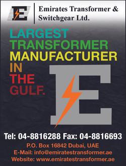 EMIRATES TRANSFORMER LTD 40C