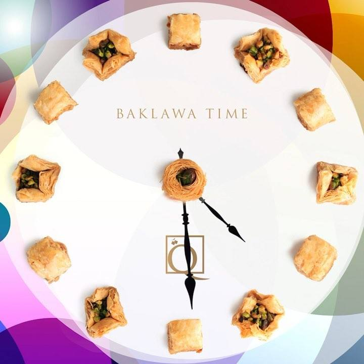 3pm 🕒 Baklawa time 😋 6pm 🕕 Bklawa time 😋 9pm 🕘 Betime.. but first, another Baklawa 🤤😅  When is your favourite time for a delicious sweet? 😉 . . @carrefouruae @carrefourbahrain @carrefour_oman @bmb_group  . . #baklawatime #itstime #thereisalwaystime #