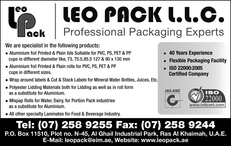 LEO PACK LLC_42H