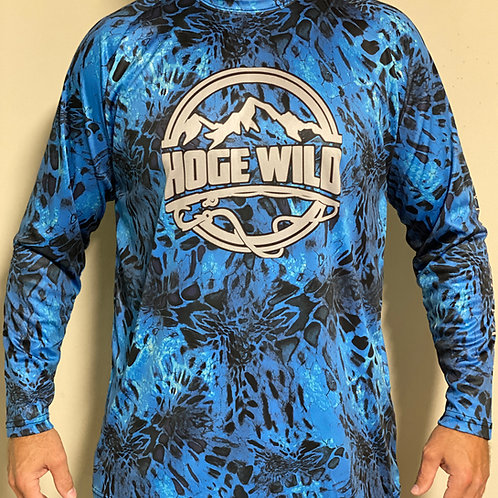 Fishing Camo Long Sleeve Shirt