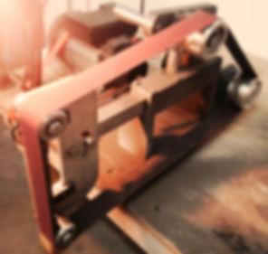 KMG belt grinder