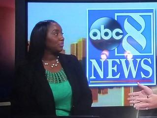 Germika Pegram, MSW Channel 8 News Interview