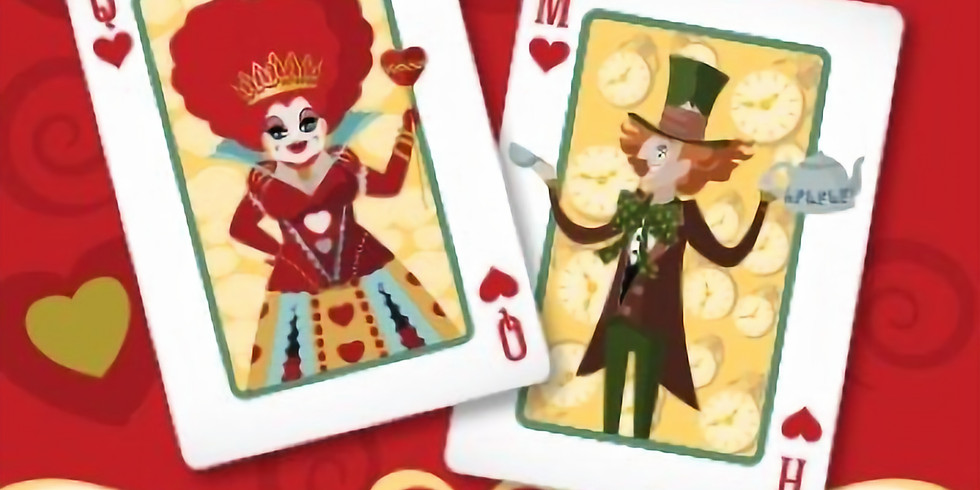 Queen of Hearts and Mad Hatter's Ball