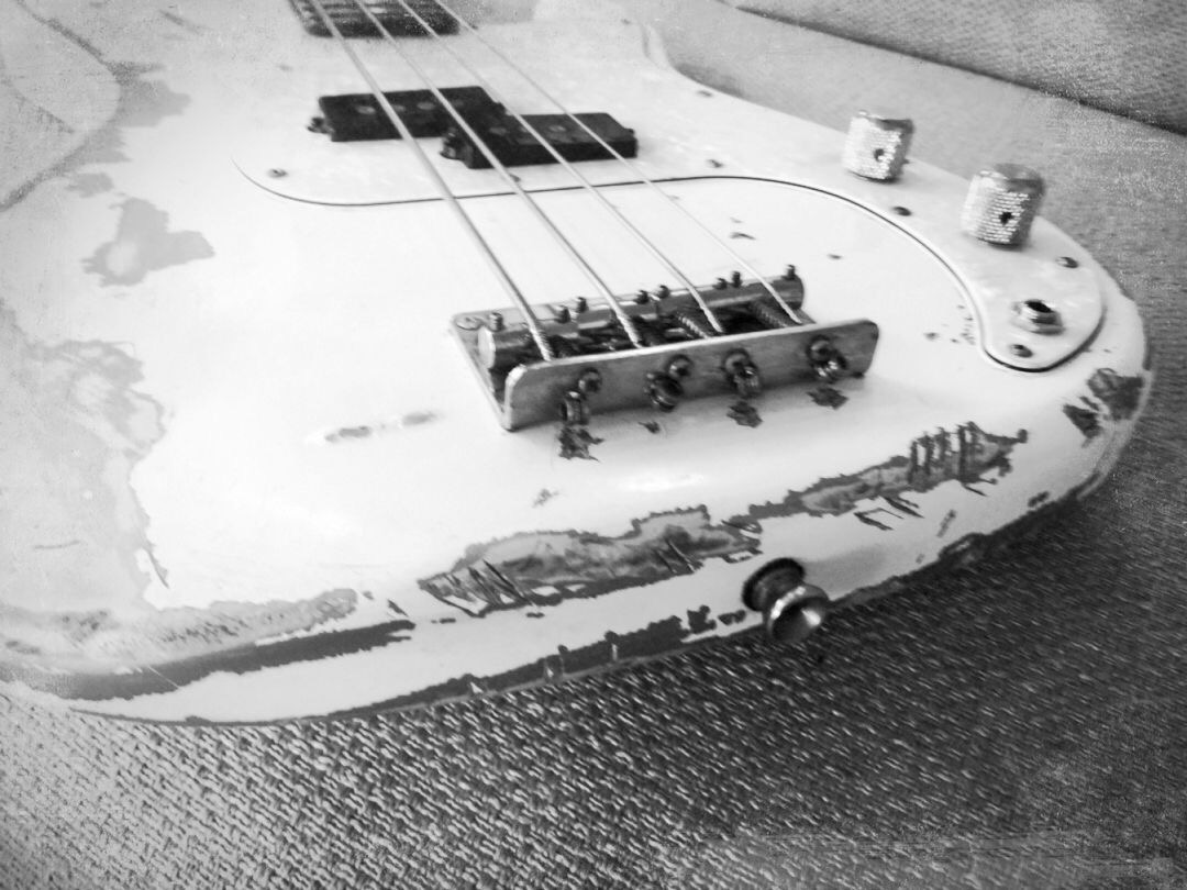 Road worn bass...