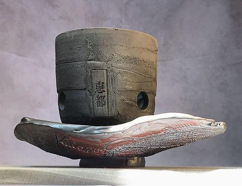 Spirit Line Pottery, unglazed orchid pottery