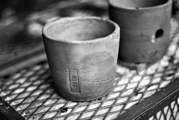 Raku Orchid Pottery