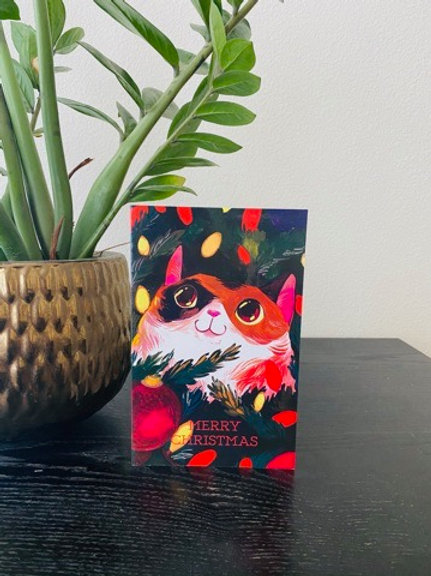 Merry Molly Christmas Card #2