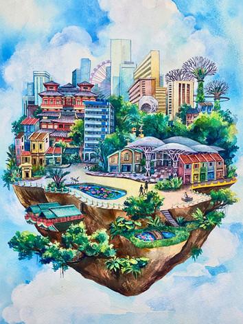 Singapore Island, version 2