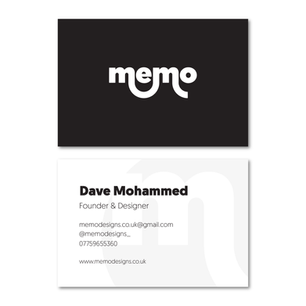 Memo Designs Business Cards
