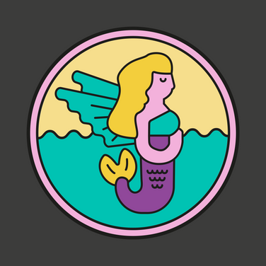 Flying Mermaid Logo