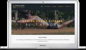 Daniel Framp Fitness Website