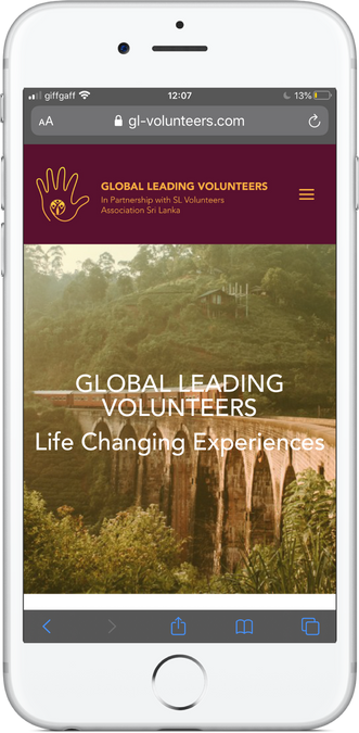 Global Leading Volunteers Mobile Site