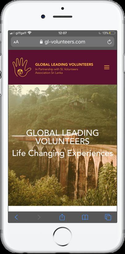 Global Leading Volunteers Mobile Site