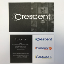 Crescent Group Business Cards