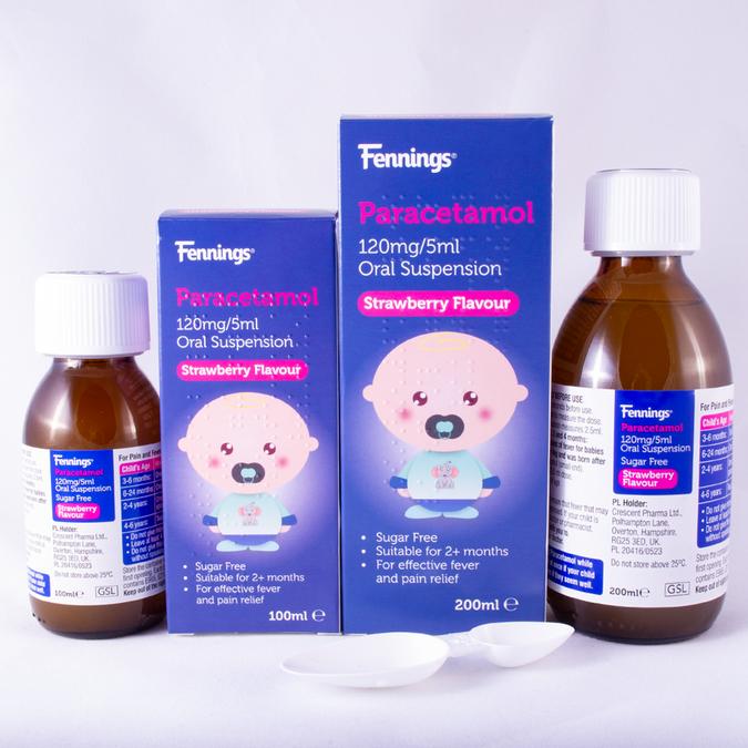 Fennings Paracetamol 120mg/5ml Group