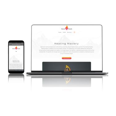 Heat Geek Courses Website_Memo Designs