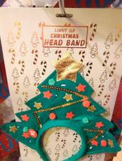 Light up Christmas Tree Headband