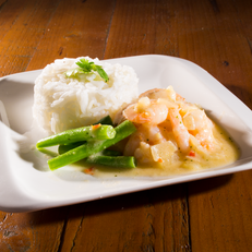 Prawn and Coconut Curry