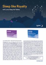 Lunox Sleep Aid Tablets Advert - 2nd campaign
