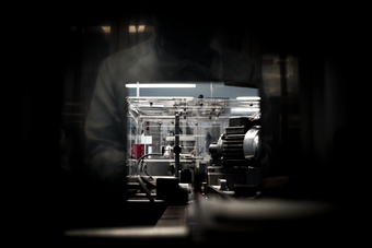 Machine at Manufacturing Plant Series