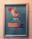 Tummease Washroom Campaign Poster