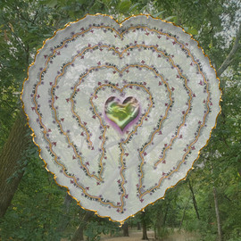 Walking the Labyrinth:  One With Gaia's Heart - A Meditation