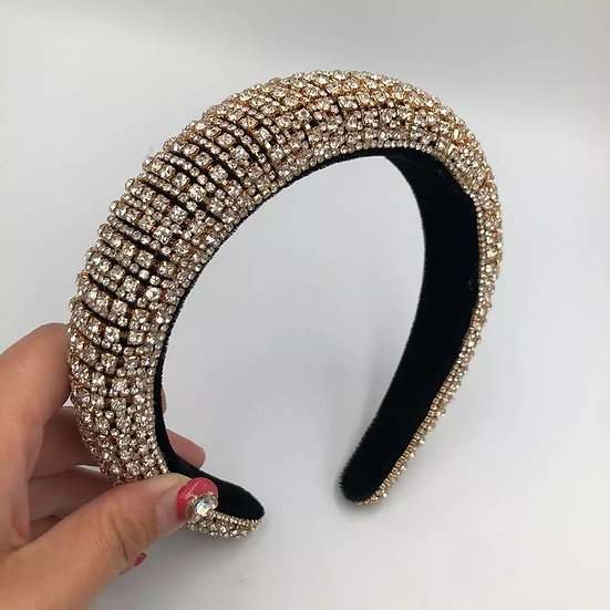 Gold Glam Headband