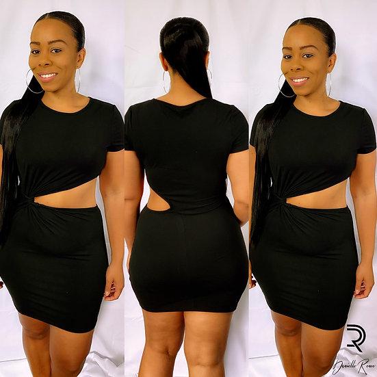 Sporty Black Dress