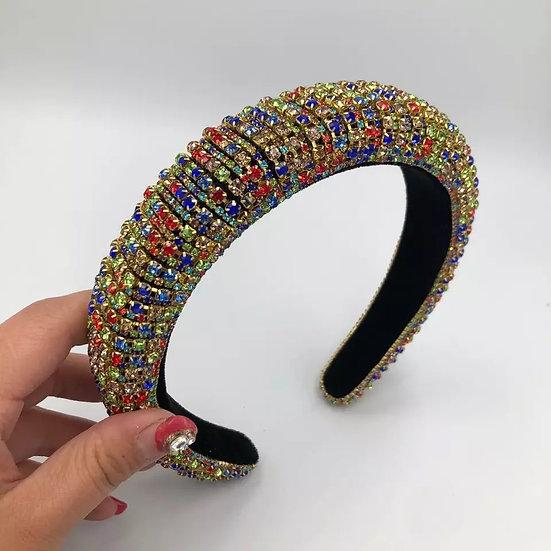 Multicolor Glam Headband