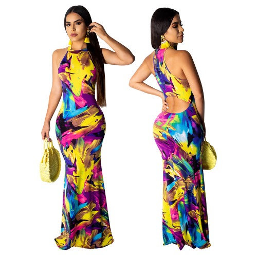 Trenica Abstract Dress