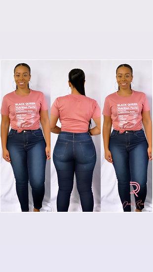 Dark Denim Straight Jeans