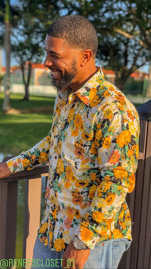 Fly Guy Button Down Shirt