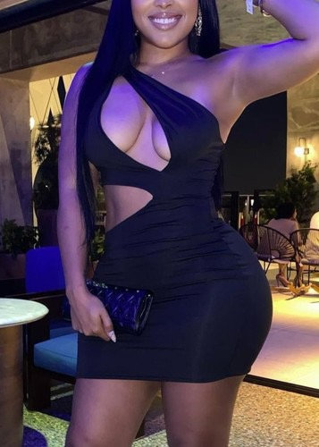 Spicy Black Dress