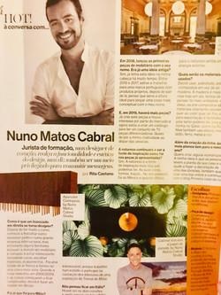 Nuno Matos Cabral at Saber Viver