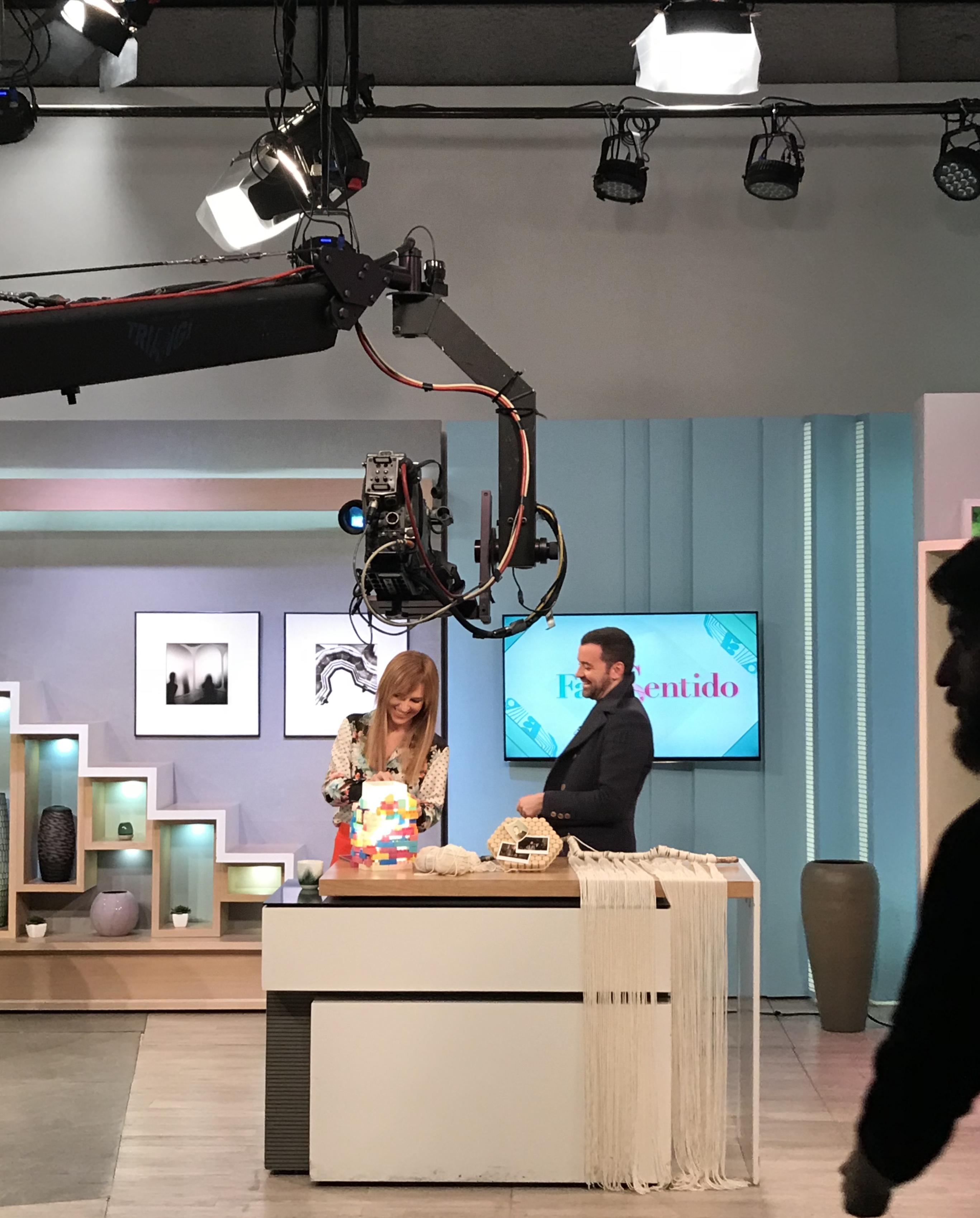 Nuno Matos Cabral e Ana Rita Clara na Sic Mulher