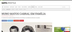 Nuno Matos Cabral at SAPO Lifestyle