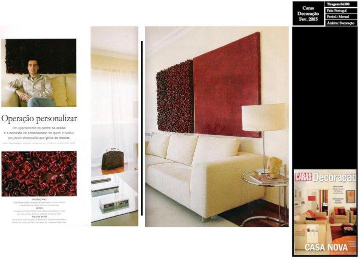 Poject at Caras Decoração Magazine