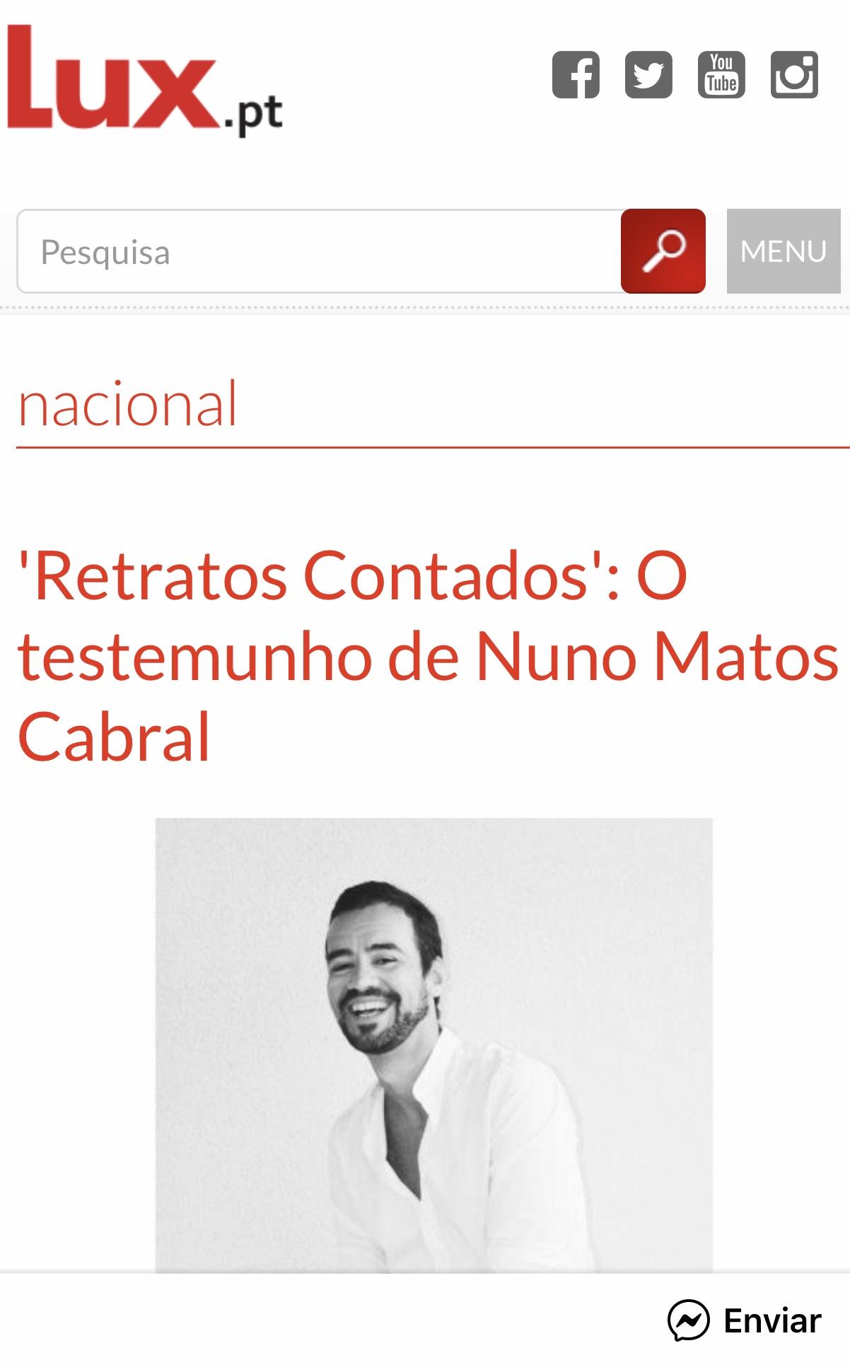Nuno Matos Cabral @ Lux