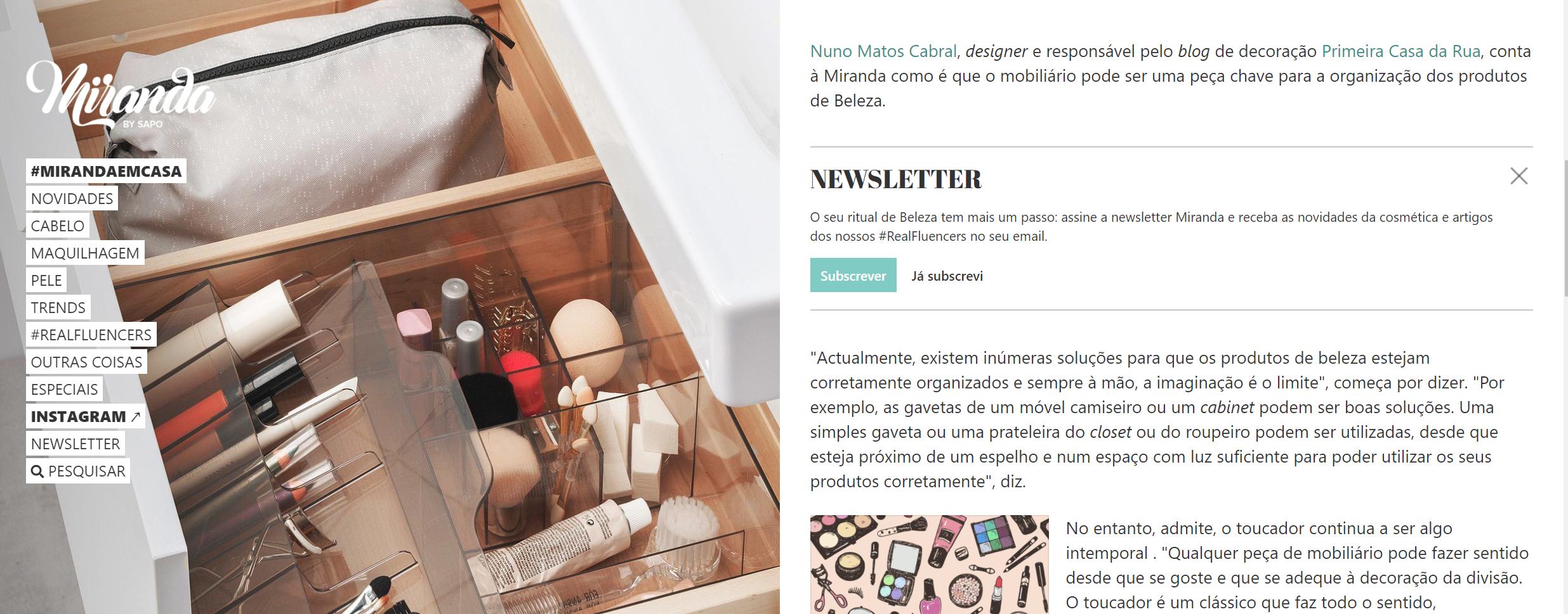 Nuno Matos Cabral @ Miranda by Sapo