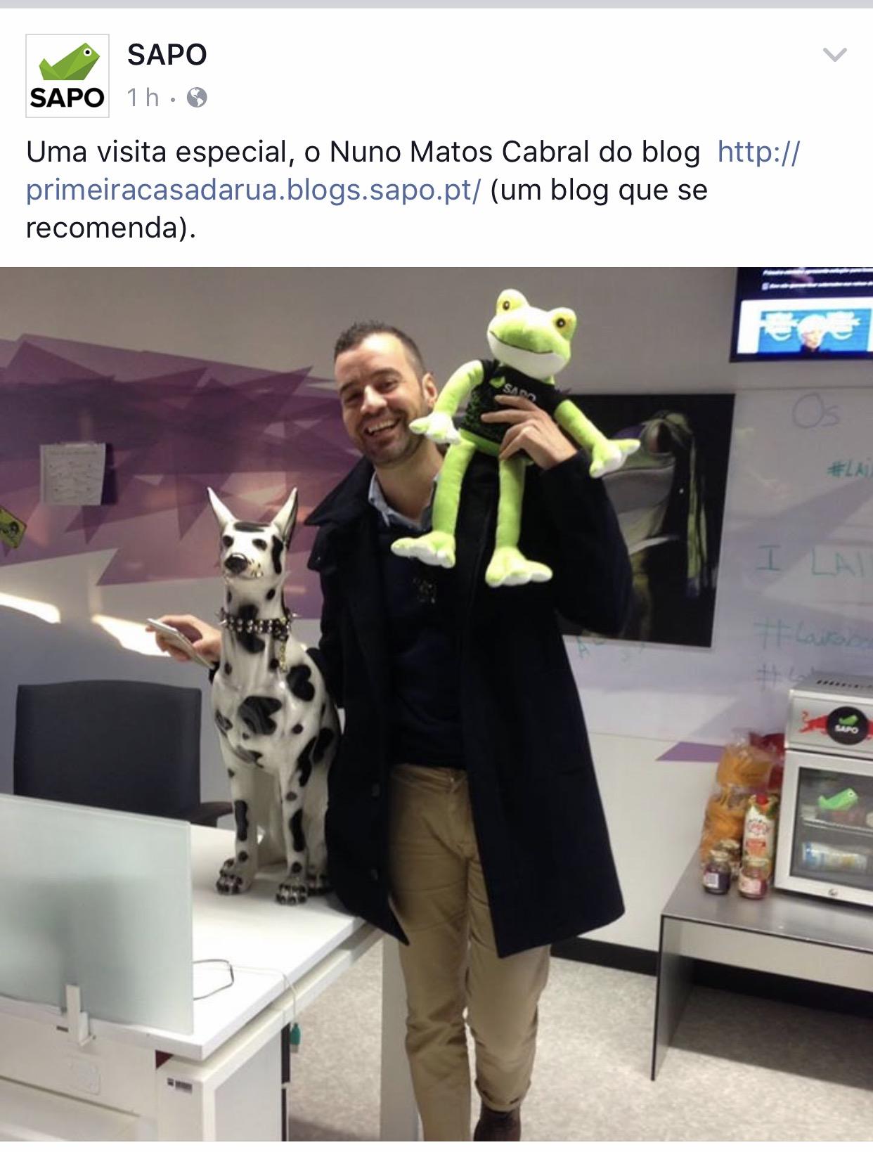 Nuno Matos Cabral @ Sapo.pt