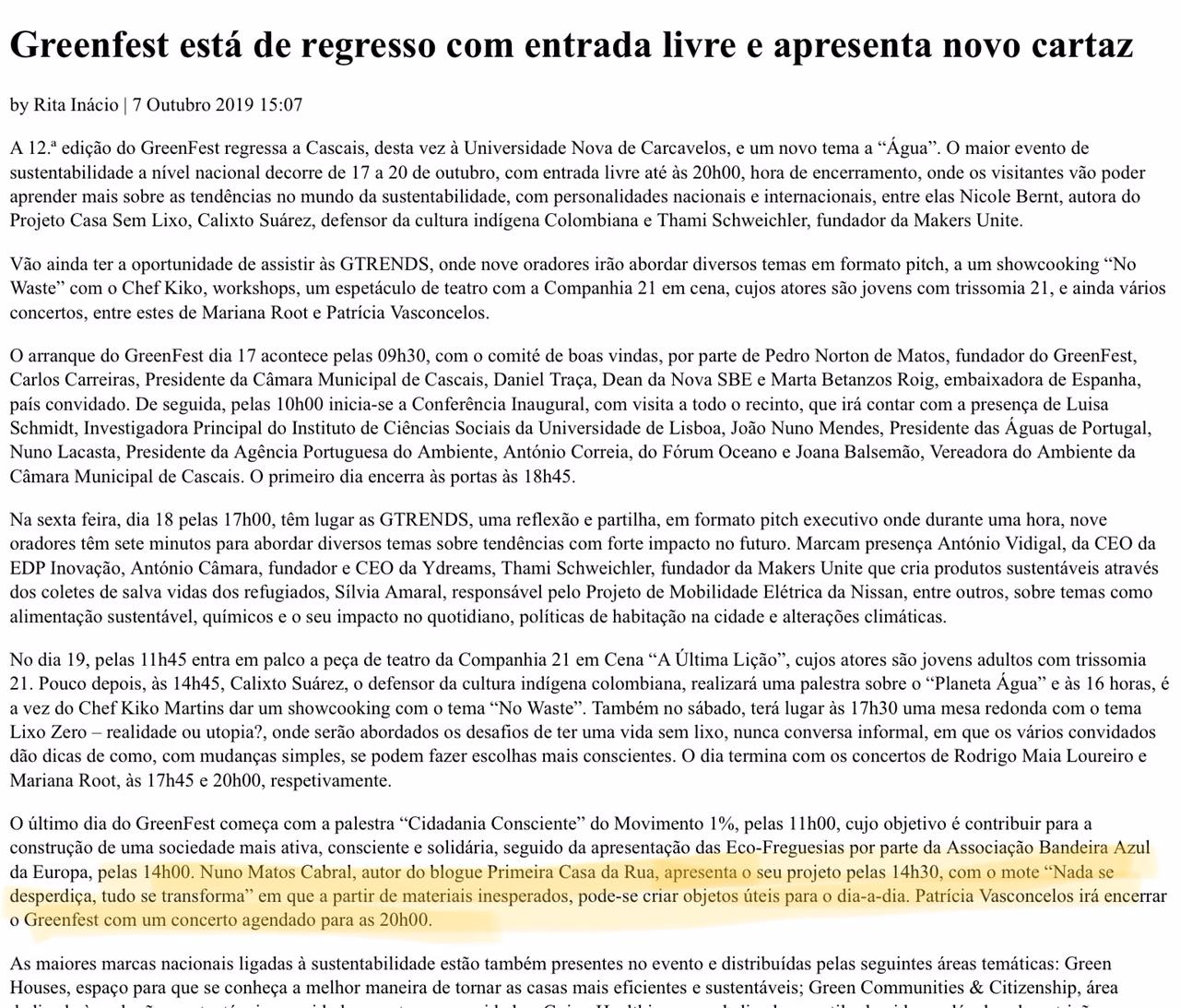 Nuno Matos Cabral _ Greenfest Nova SBE_a