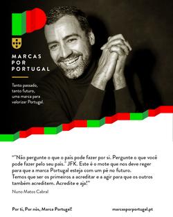 Nuno Matos Cabral for the PORTUGAL brand