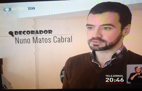 Nuno Matos Cabral no Telejornal