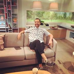 Nuno Matos Cabral at a TV Show