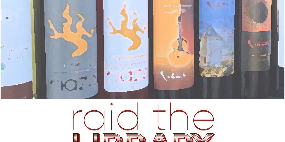 Raid the Library Tasting Gig