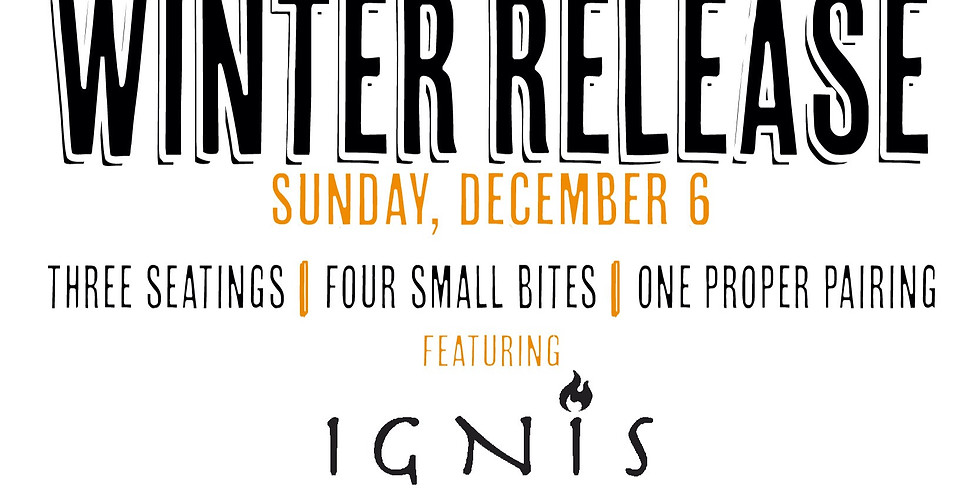 Winter Release Gig (3p Seating)