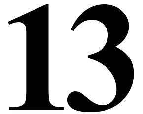 Symbols: Thirteen (13)