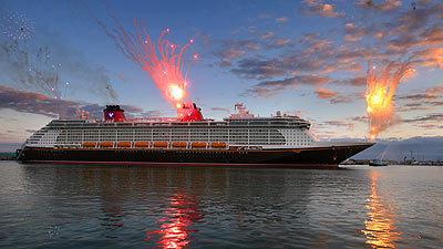 Symbols: Cruise Ship