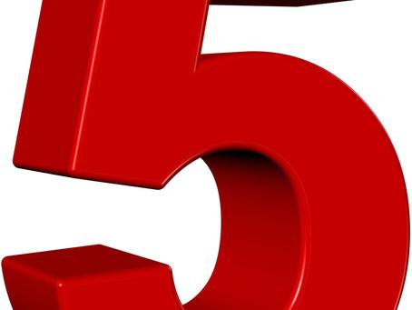 Symbols: Five (5)